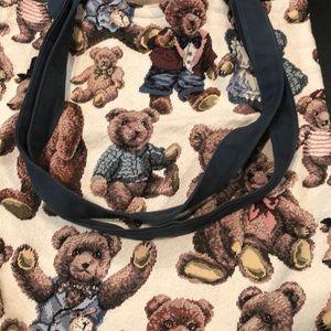 Adorable bear tote